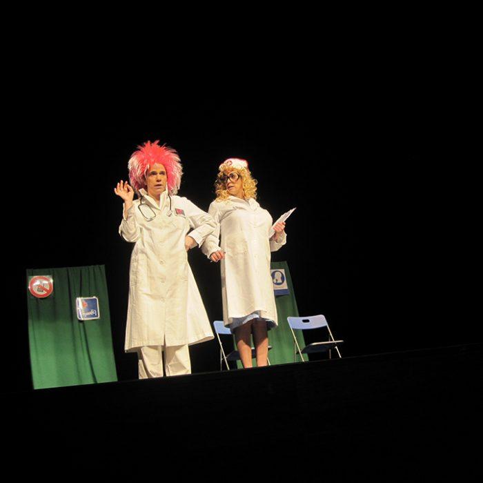 Pánico Escénico Teatro - En Cuarentona