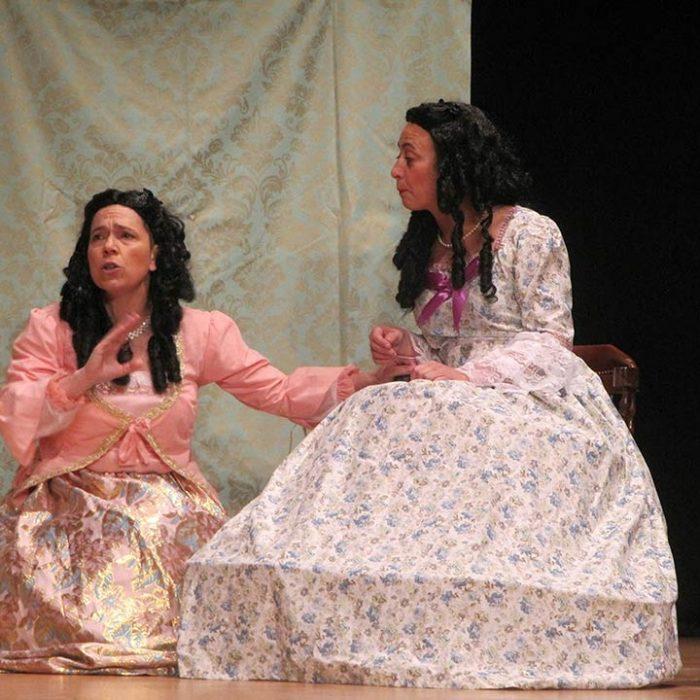 Pánico Escénico Teatro - Por detrás, todo un clásico