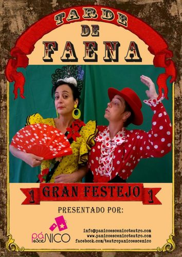 Pánico Escénico Teatro - Animaciones - Tarde de Faena